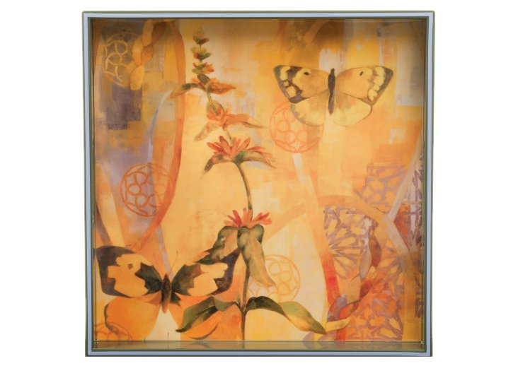 "15"" Butterfly Tray"