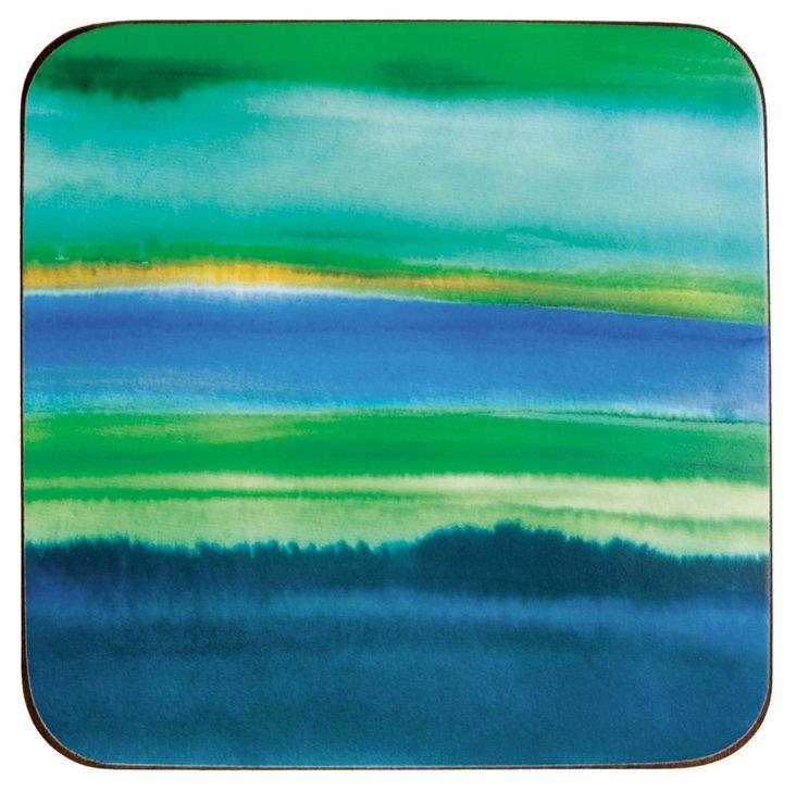 S/8 Blue Horizon Coasters