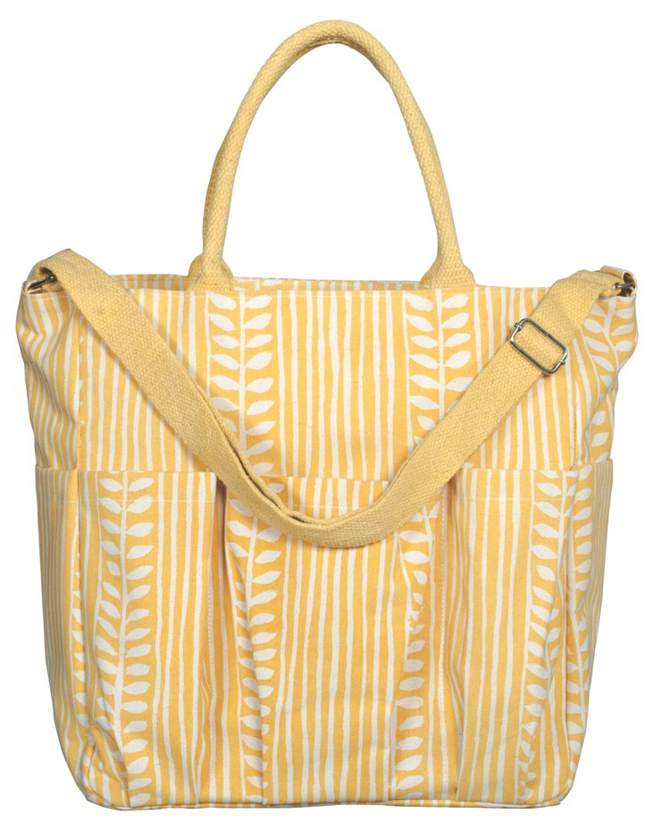 Olive Grove Weekender Bag, Maize