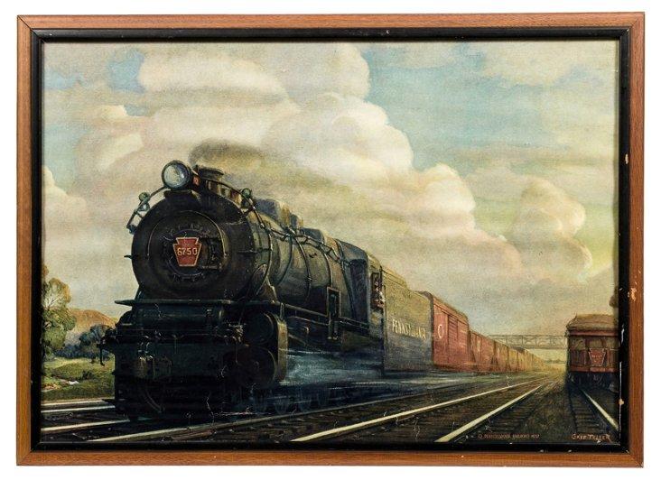 Pennsylvania Railroad Print
