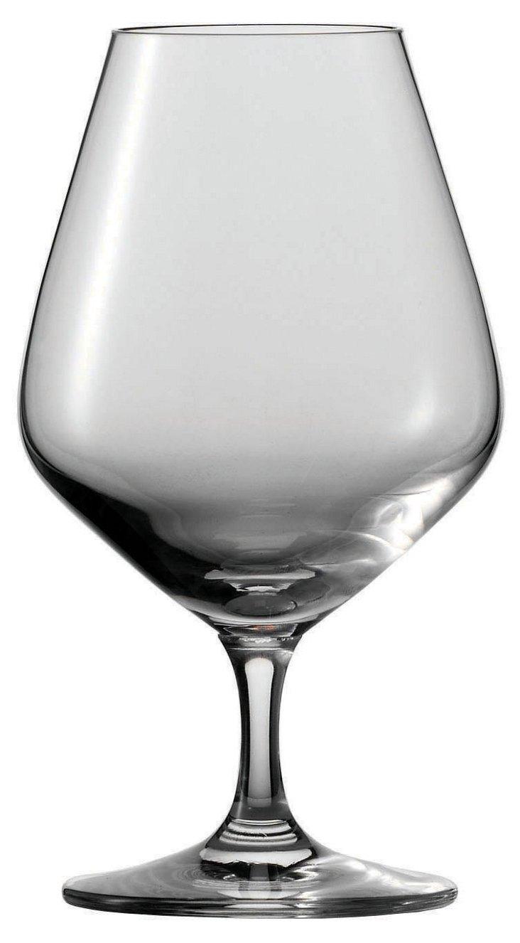 S/6 Tritan Bar Cognac Glasses