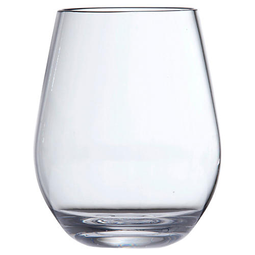 S/6 D&V Outdoor Stemless Glasses