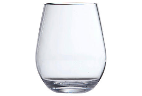 S/6 D&V Outdoor Stemless Glasses*