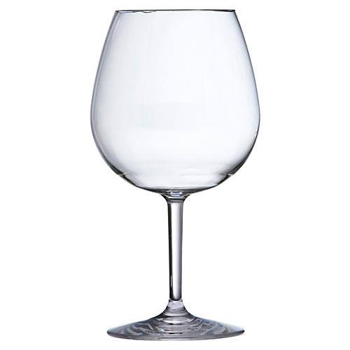 S/6 D&V Outdoor Red-Wine Glasses