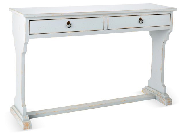 Arbor Console, Distressed Gray