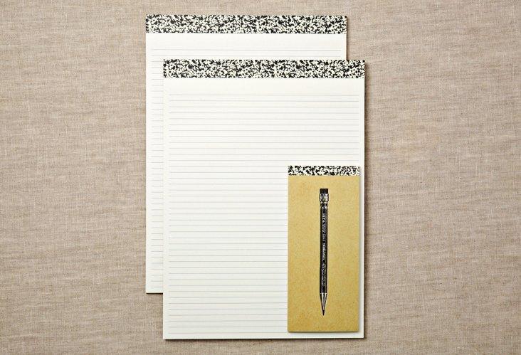 Luddite Note Pads & List Pad Set