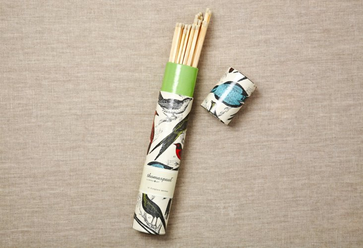 S/2 Ornithology Fireplace Matches