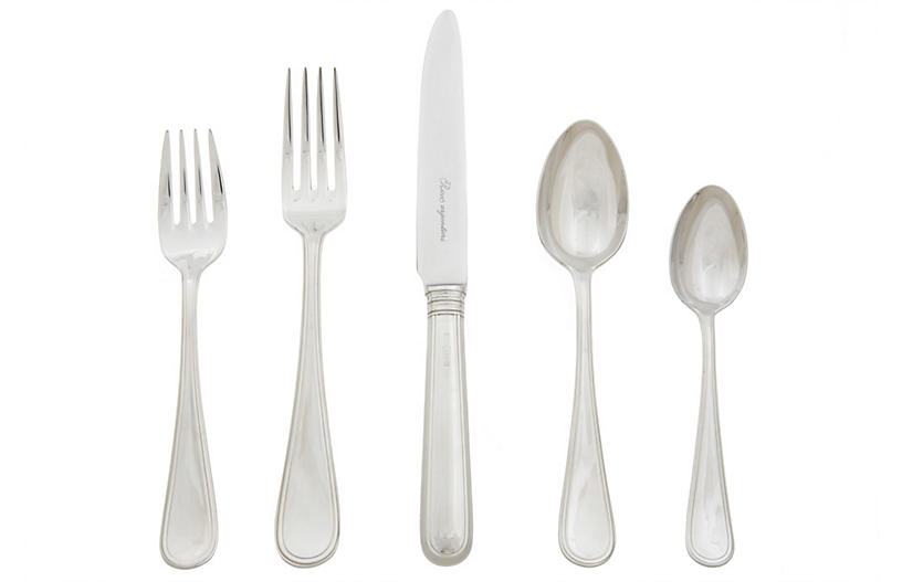 20-Pc Ascot Flatware Set