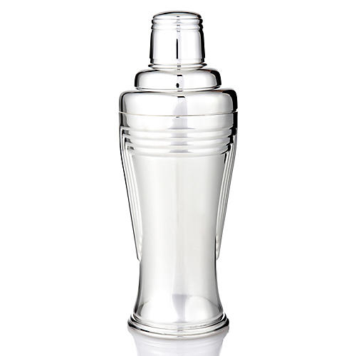 Silver-Plated Art Deco Shaker