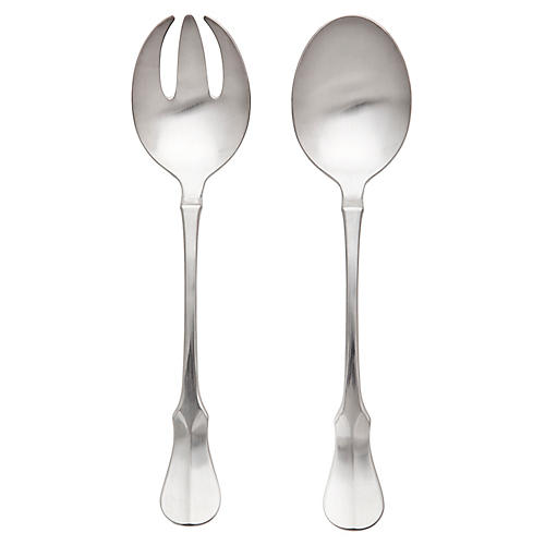 2-Pc Violino Satin Salad Set