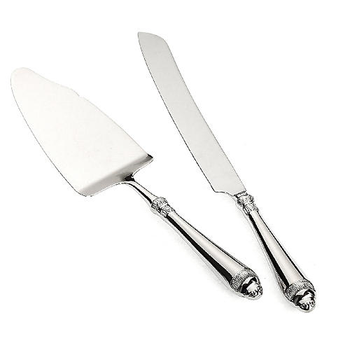 2-Pc Renaissance Cake Knife & Server