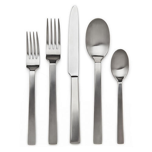 5-Pc Rapallo Satin Place Setting