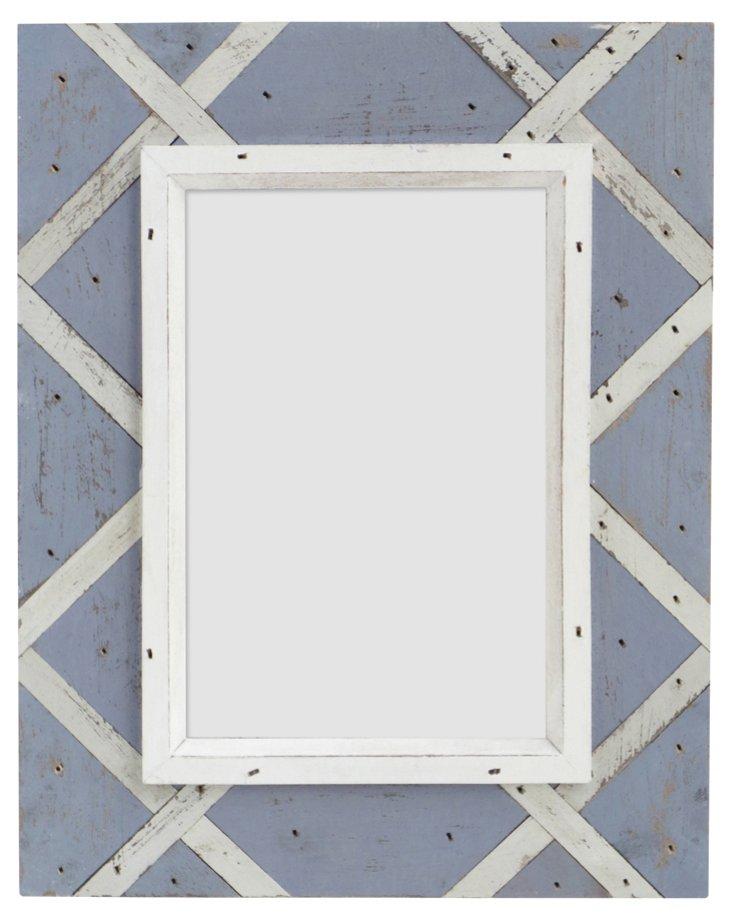 Thatch Design Frame, 4x6, Purple