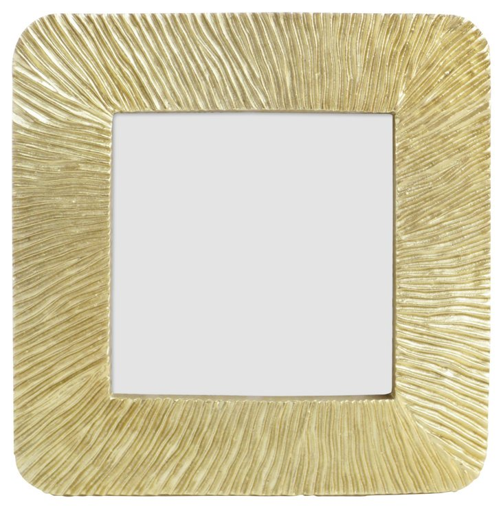 Radiating Sunburst Frame, 4x4, Gold