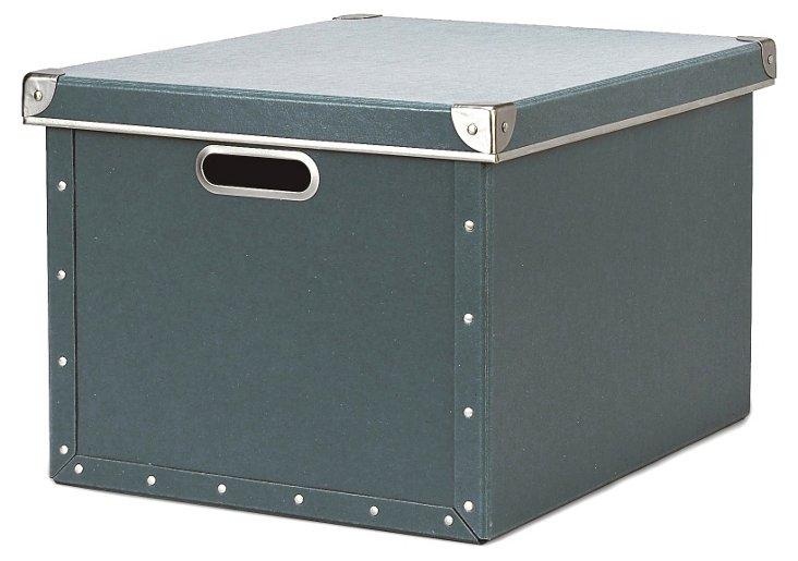 Cargo Dual File Box, Bluestone