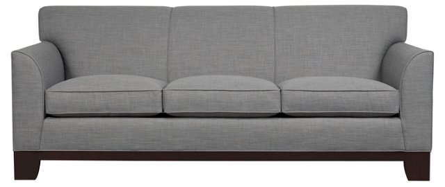 "Brooks 84"" Sofa, Gray"