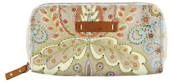Canvas Zip Around Wallet, Kumari