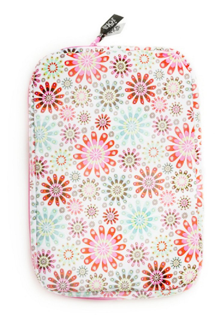 Laptop Sleeve, Peach Floral