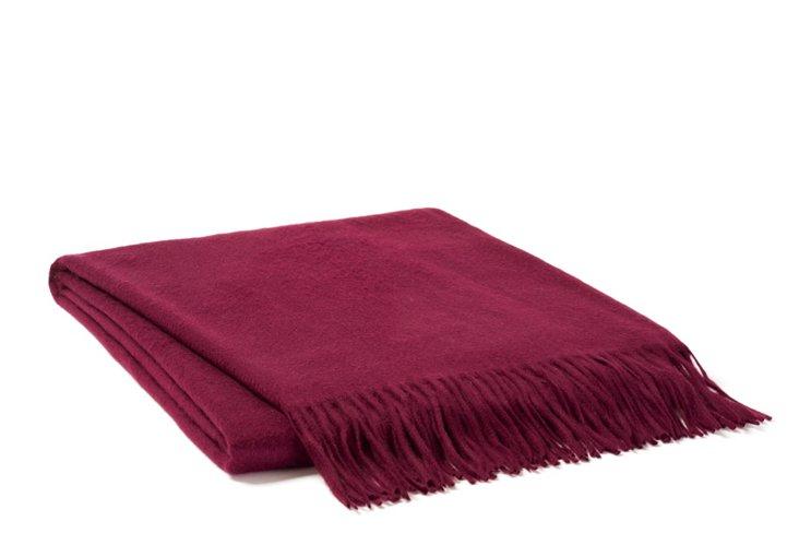 Watermark Cashmere Throw Blanket