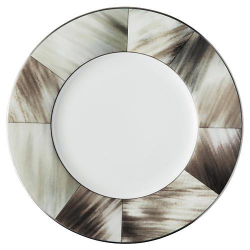 Gwyneth Bread & Butter Plate, Platinum Trim