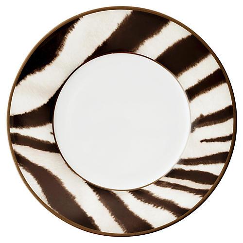 Kendall Salad Plate, Black