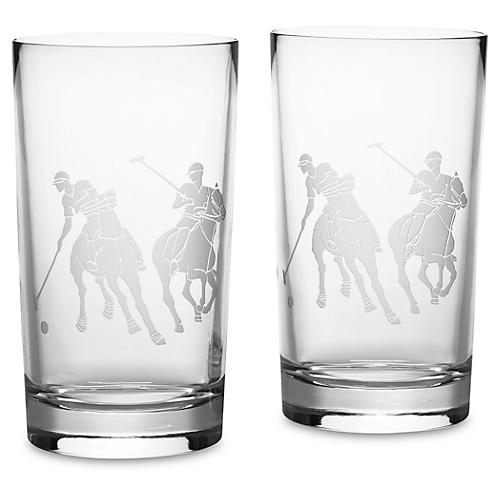 S/2 Garrett Highball Glasses