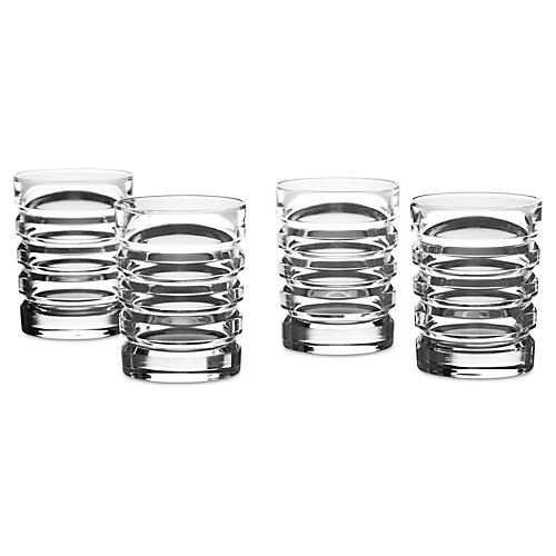 S/4 Metropolis Shot Glasses