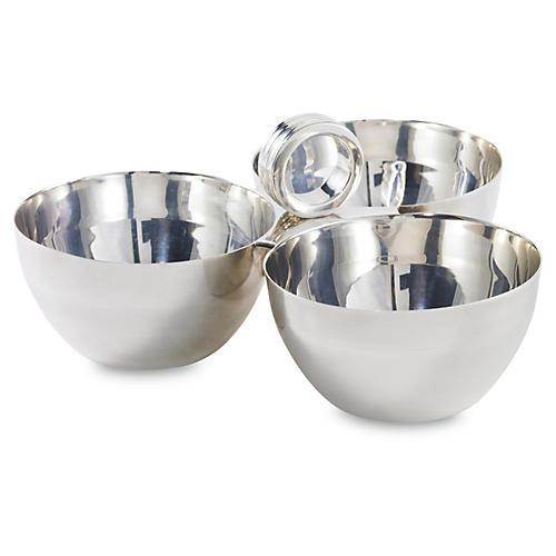Montgomery Triple Nut Bowl