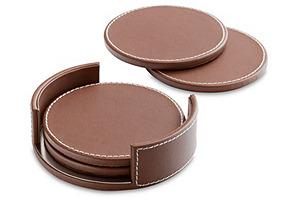 S/4 Preston Coasters, Brown