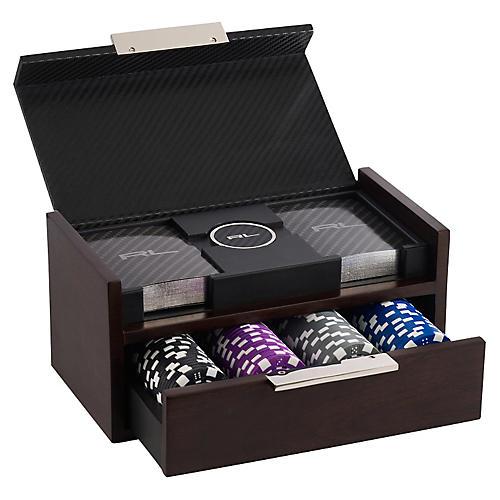 Sutton Poker Set, Black