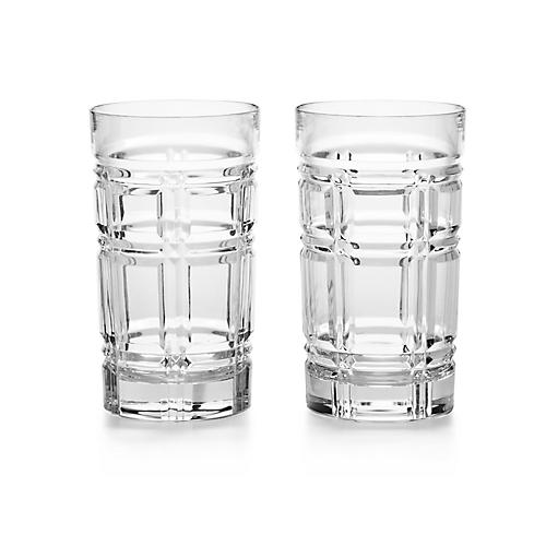 S/2 Greenwich Highball Glasses