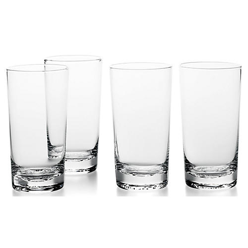 S/4 RL '67 Iced Tea Glasses, Clear