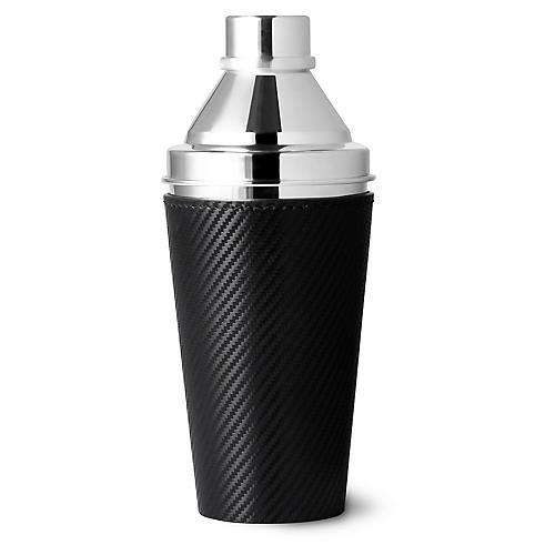 Sutton Cocktail Shaker, Black/Silver