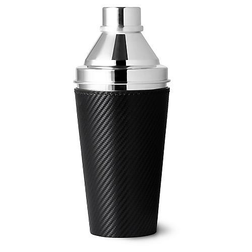 Sutton Cocktail Shaker, Black/Silver