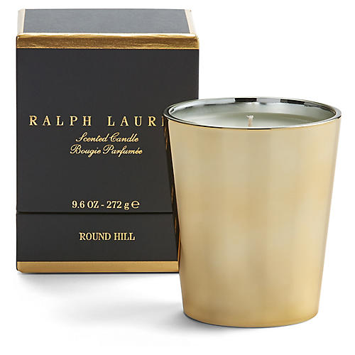 Round Hill Candle, Single-Wick