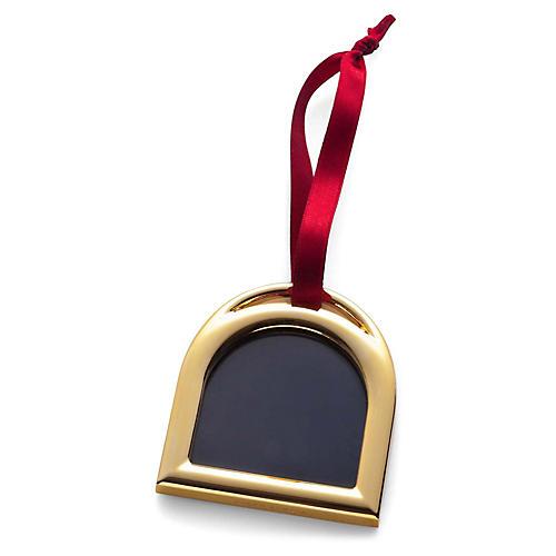 Hadley Frame Ornament, Gold