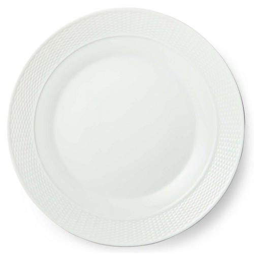 Rivington Dinner Plate, White