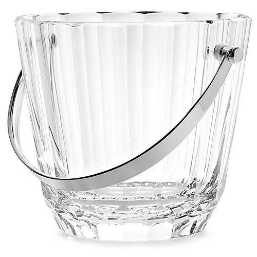 Isabel Ice Bucket, Clear/Silver
