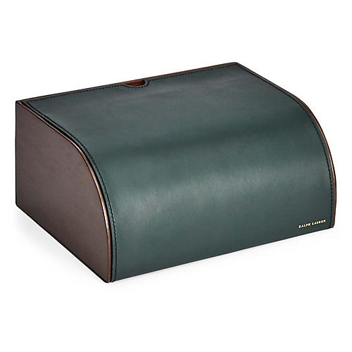 "11"" Brennan Writer's Box, Lodin Green"