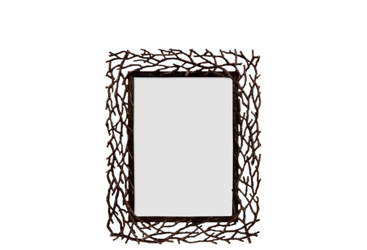 Branches Frame, 5x7, Copper