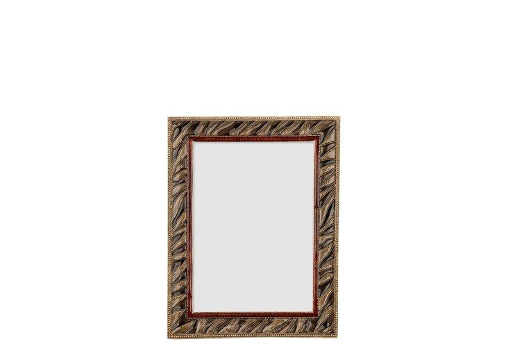 Zebra Frame, 4x6, Gold