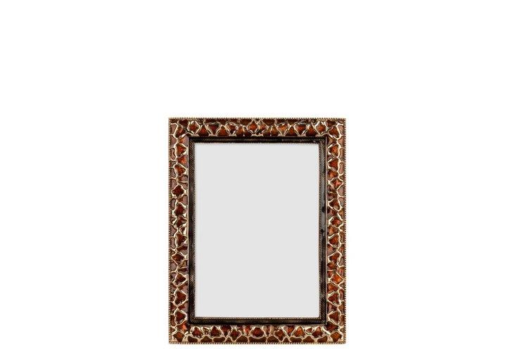 Giraffe Frame, 4x6, Gold