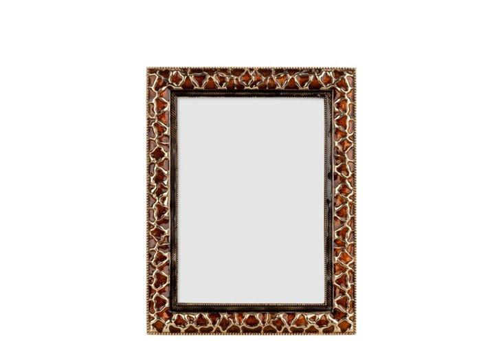 Giraffe Frame, 5x7, Gold