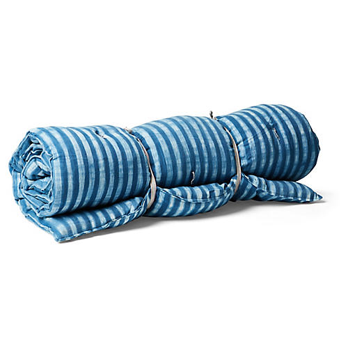 Kapok Throw Bed, Indigo