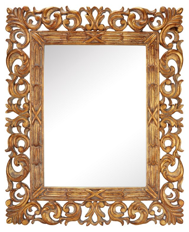 Layla Mirror, Gold