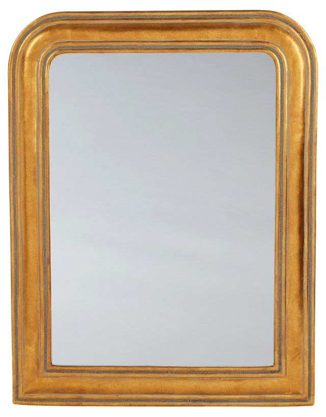 Aubrey Wall Mirror, Gold