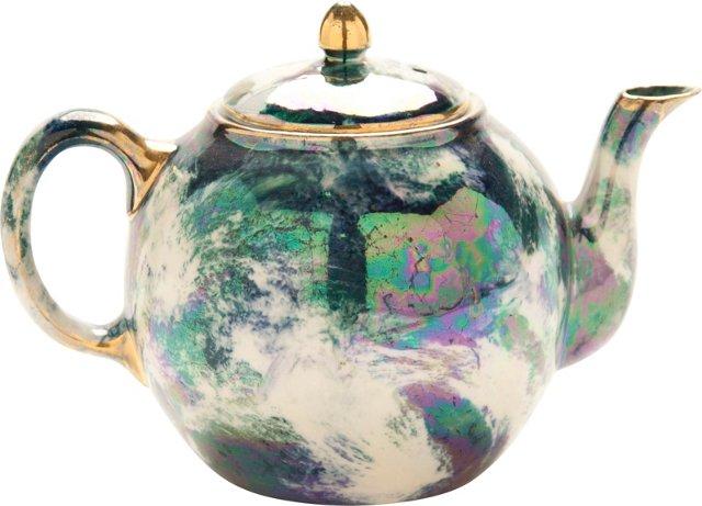 Lusterware Teapot