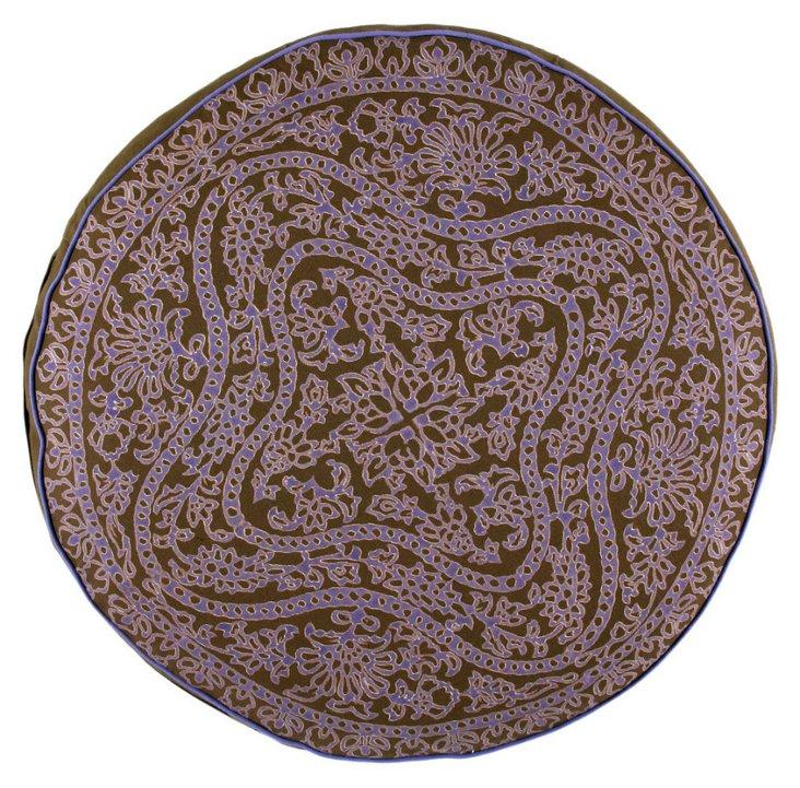 Hermit Round Decorative Pillow
