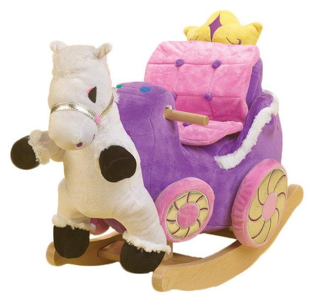 Princess Carriage Rocker, Magenta/Pink
