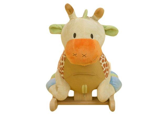 Raffi Giraffe Rocker, Beige/Multi